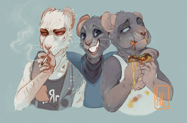 Rat Brothers by LiLaiRa
