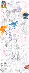 Sketch dump 60 by LiLaiRa