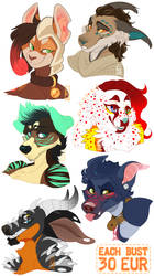 30 EUR busts by LiLaiRa