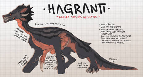 Hagranti CLOSED SPECIES by LiLaiRa