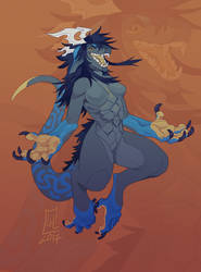 AT with Tokyozilla by LiLaiRa