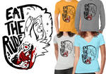 Eat The Rude Merch by LiLaiRa
