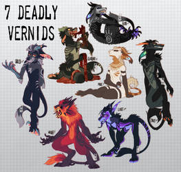 7 DEADLY VERNIDS [CLOSED] by LiLaiRa