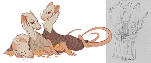 Rat Hydra by LiLaiRa