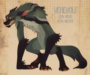 Werewolf Auction by LiLaiRa