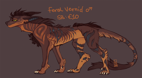 Feral vernid auction 2018-05-26 by LiLaiRa