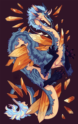 full Krita painting for poptheblimp by LiLaiRa