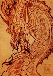 Vampire Dragon by LiLaiRa