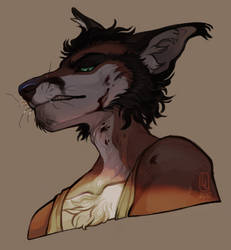 Bust Painting for Caicyo by LiLaiRa