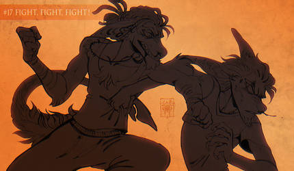 #17 FIGHT FIGHT FIGHT! by LiLaiRa
