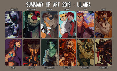 Summary Of Art 2018 by LiLaiRa