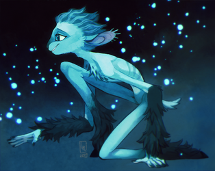 Guardian of the Moon by LiLaiRa