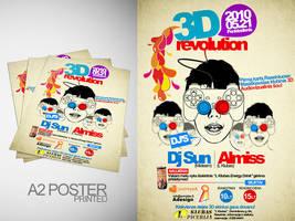 Flyer 3D revolution 2 by Armidas