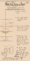 How to Draw a Room in Two Point Perspective by MangoMendoza