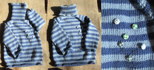 Pullover by Fortresca