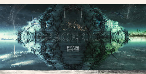 Space City by unicolored