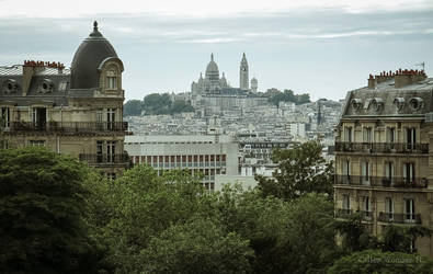 Sacre-Coeur by unicolored
