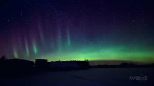 Dancing Auroras by JoniNiemela