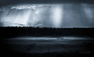Mist And Sunrays by JoniNiemela