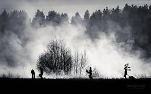 Smokers by JoniNiemela