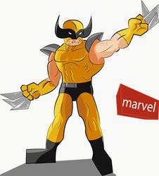 Wolverine by jonarty
