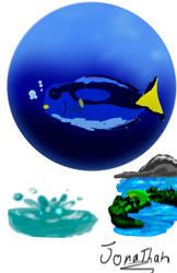 textura del agua by jonarty