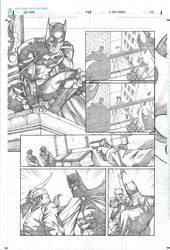 Batman sample Page 01 by druje