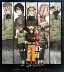 Kakashi's Team by silverteahouse