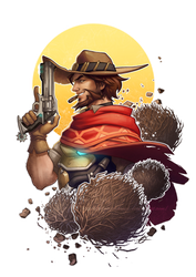 OW-Sharpshooters-McCree by silverteahouse