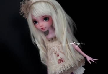Ann in white wig by AndrejA