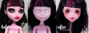 Custom Monster High Draculaura 2 by AndrejA