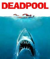 Deadpool vs Jaws by DeadpoolFool