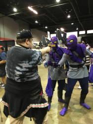 Me Vs. Foot Ninjas by thieviusracoonus