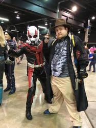 Ant-Man and Me by thieviusracoonus