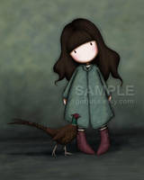 The Pheasant by gorjuss