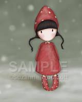 Christmas Elf by gorjuss