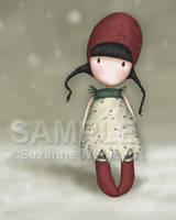 Christmas Holly by gorjuss