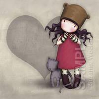 Purrrrfect Love by gorjuss