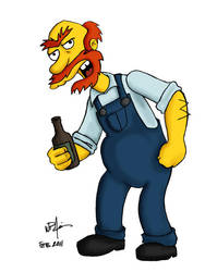 Groundskeeper Willie by SonofReorx