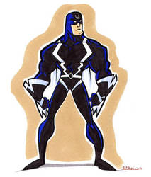 Inhuman Black Bolt by WarBrown