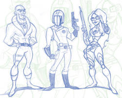 Cobra Sketches by WarBrown