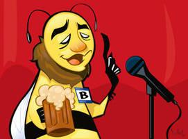 Drunk Spelling Bee by WarBrown