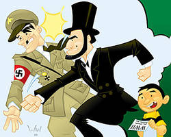 Abe Lincoln: Nazi Smasher by WarBrown