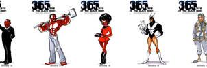 Black Heroes January 16 - 20 by WarBrown