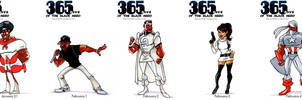 Black Heroes January 31 - February 04 by WarBrown