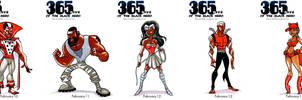 Black Heroes February 10 - 14 by WarBrown