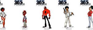 Black Heroes February 20 - 24 by WarBrown
