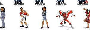 Black Heroes February 25 - 29 by WarBrown