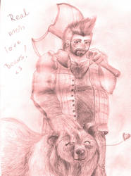 Real men love Bears by Ciepson
