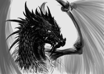 Black Dragon by Ciepson